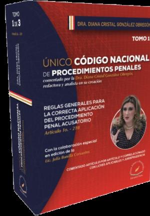 ÚNICO CÓDIGO NACIONAL DE PROCEDIMIENTOS PENALES (3 Tomos)